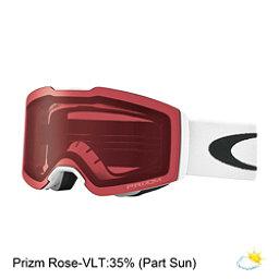Oakley Fall Line Prizm Goggles, Matte White-Prizm Rose, 256