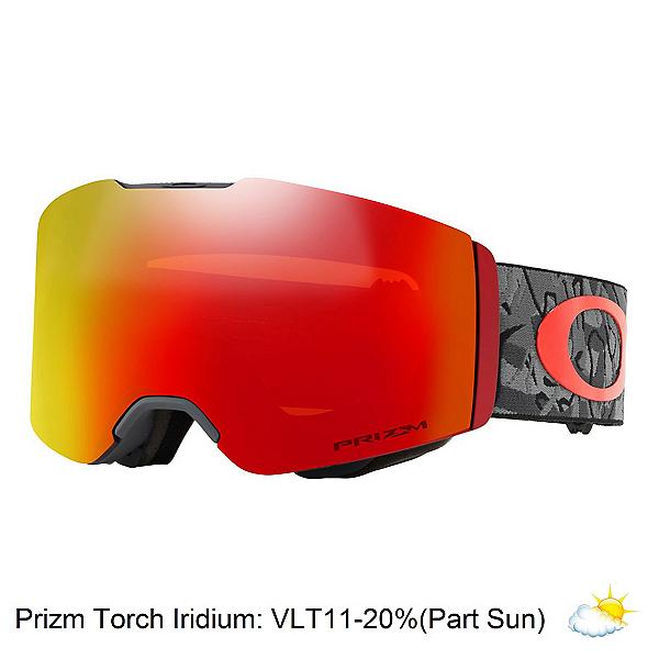 Oakley Fall Line Prizm Goggles, Camo Vine Night-Prizm Torch Ir, 600