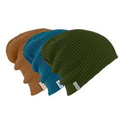 Burton DND Beanie 3-Pack, Rifle Green-True Penny-Mountai, 256