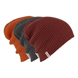 Burton DND Beanie 3-Pack, Faded-Fired Brick-Clay, 256