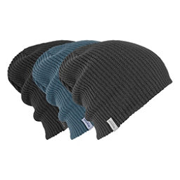 Burton DND Beanie 3-Pack, True Black-Faded-La Sky, 256