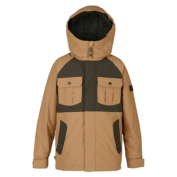 Burton Fray Boys Snowboard Jacket, Kelp-Forest Night, 600