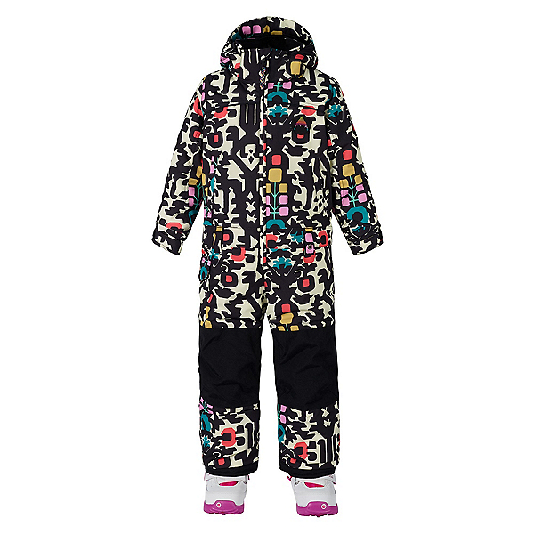 Burton Minishred Illusion Toddler Girls One Piece Ski Suit, Young Folks, 600