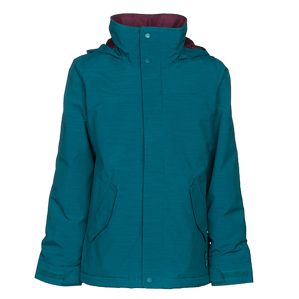 Burton Elodie Girls Snowboard Jacket, Jaded, 600