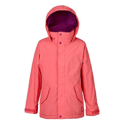 Burton Elodie Girls Snowboard Jacket, Georgia Peach, 256