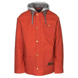 Burton Dunmore Mens Insulated Snowboard Jacket, Clay, 256