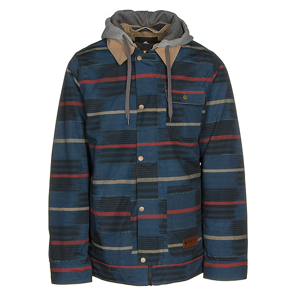 Burton Dunmore Mens Insulated Snowboard Jacket, Checkyoself, 600