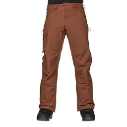Burton Covert Insulated Mens Snowboard Pants, True Penny, 256