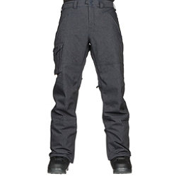 Burton Covert Insulated Mens Snowboard Pants, Denim, 256