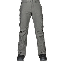 Burton Cargo Mid Mens Snowboard Pants, Shade Heather, 256