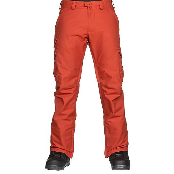 Burton Cargo Mid Mens Snowboard Pants, Clay, 600