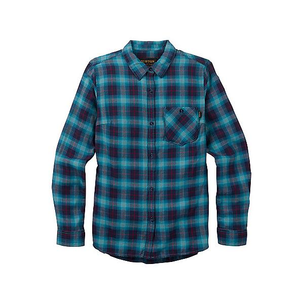 Burton Grace Womens Flannel Shirt, Jaded Haze Plaid, 600