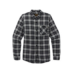 Burton Grace Womens Flannel Shirt, True Black Plaid, 256