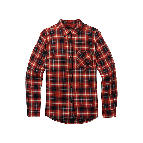 Burton Grace Womens Flannel Shirt 2018, Bitters Haze Plaid, 600