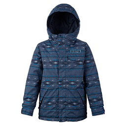 Burton Dugout Boys Snowboard Jacket, Mood Indigo Saddle, 256