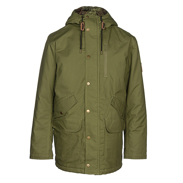 Burton Sherman Mens Jacket, Olive Branch, 600