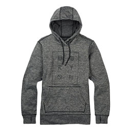 Burton Quartz Pullover Womens Hoodie, True Black Heather, 256