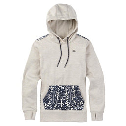 Burton Quartz Pullover Womens Hoodie, Dove Heather, 256