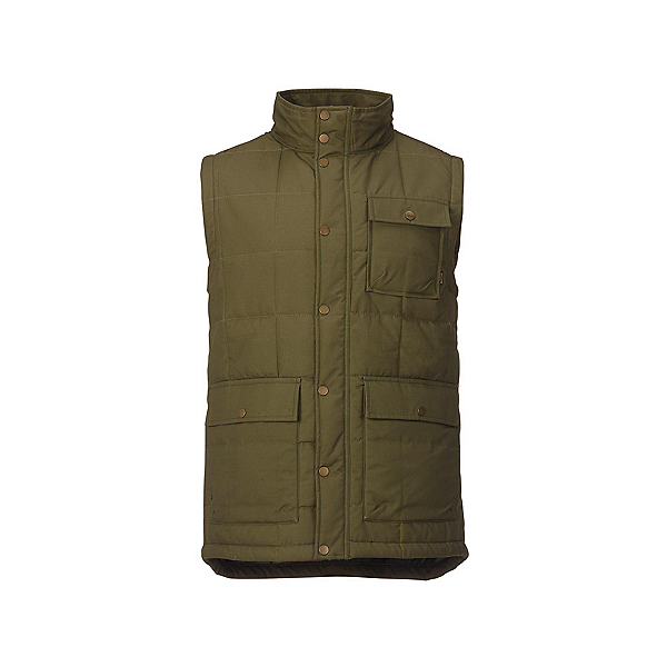 Burton Woodford Vest, Olive Night, 600