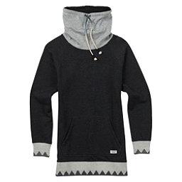 Burton Fox Trot Funnel Womens Sweater, True Black Heather, 256