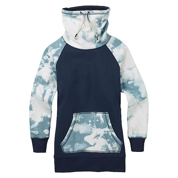 Burton Fox Trot Funnel Womens Sweater, Mood Indigo Bleached, 600