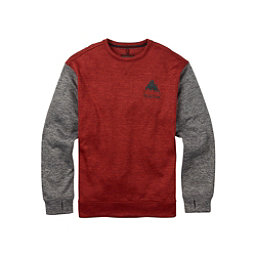 Burton Oak Crew Mens Sweatshirt, Tandori Heather, 256