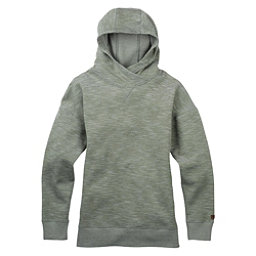 Burton Hixon Pullover Womens Hoodie, Dusty Olive Heather, 256