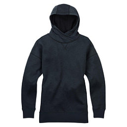 Burton Hixon Pullover Womens Hoodie, True Black Heather, 256
