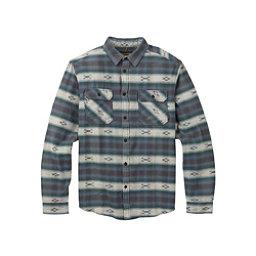 Burton Brighton Burly Flannel Shirt, La Sky Azrek, 256