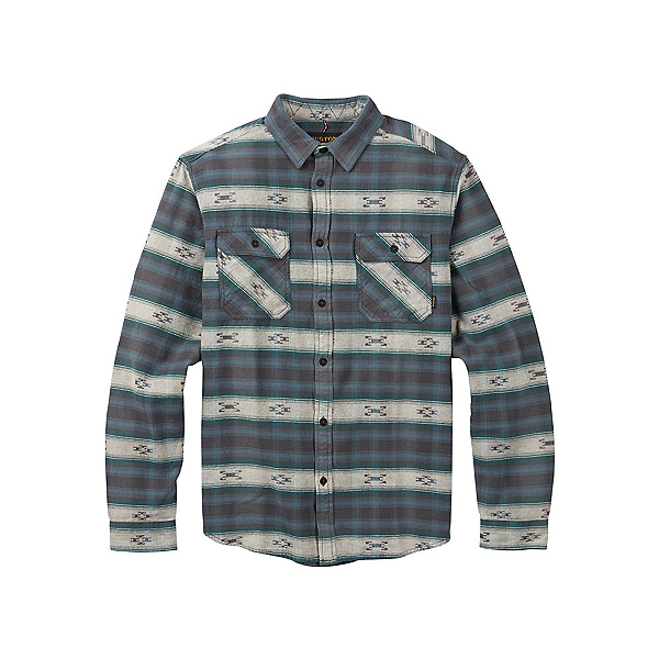 Burton Brighton Burly Flannel Shirt, La Sky Azrek, 600