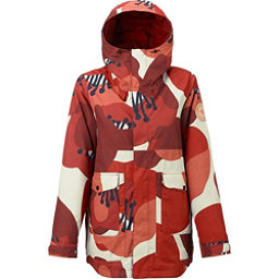 Burton Cerena Parka Womens Insulated Snowboard Jacket, Canvas Poppyfield, 256