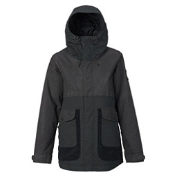 Burton Cerena Parka Womens Insulated Snowboard Jacket, True Black, 256