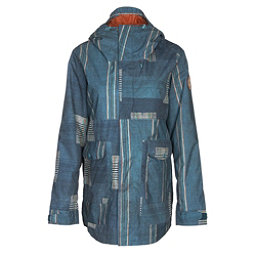 Burton Cerena Parka Womens Insulated Snowboard Jacket, Rainbow Stripe, 256
