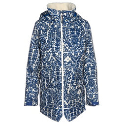 Burton Prowess Womens Insulated Snowboard Jacket, Sodalite Delftone, 256