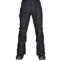 Burton Southside Mid Fit Mens Snowboard Pants, True Black, 256