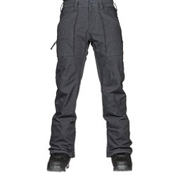 Burton Southside Mid Fit Mens Snowboard Pants, Denim, 256