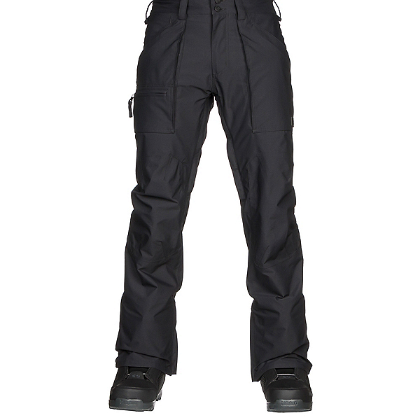 Burton Southside Mens Snowboard Pants, True Black, 600