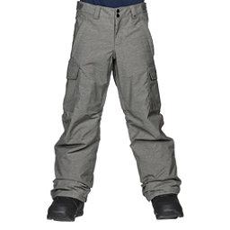 Burton Exile Cargo Kids Snowboard Pants, Heathers, 256