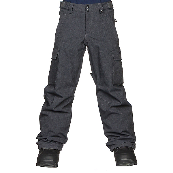 Burton Exile Cargo Kids Snowboard Pants 2019, Denim, 600