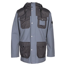 Burton Match Mens Insulated Snowboard Jacket, La Sky-Faded, 256