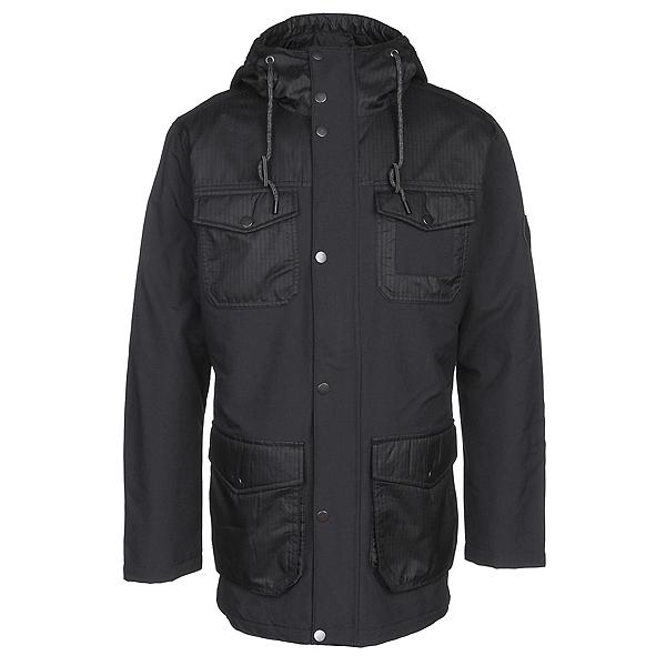 Burton Match Mens Insulated Snowboard Jacket, True Black, 600