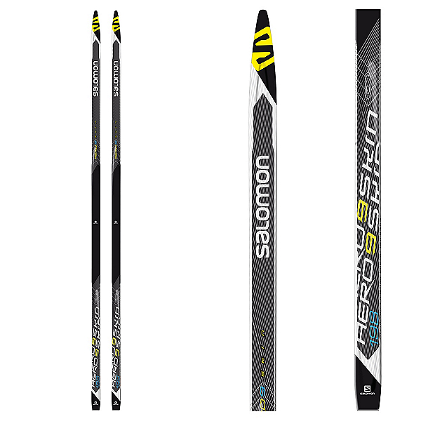 Salomon Aero 9 Extra Stiff Cross Country Skis, , 600