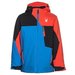 Spyder Ambush Boys Ski Jacket, French Blue-Black-Burst, 256
