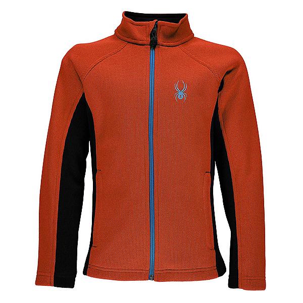 Spyder Constant Full Zip Kids Sweater, Burst-French Blue, 600