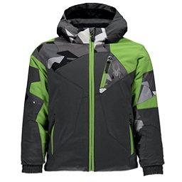 Spyder Mini Leader Toddler Ski Jacket, Polar-Polar Herringbone-Fresh, 256