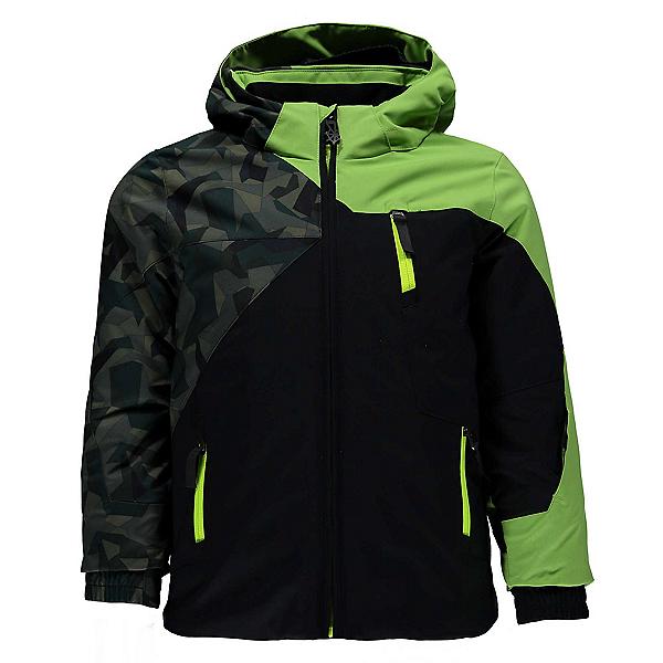 Spyder Mini Ambush Toddler Ski Jacket, Black-Mini Guard Camo-Fresh, 600