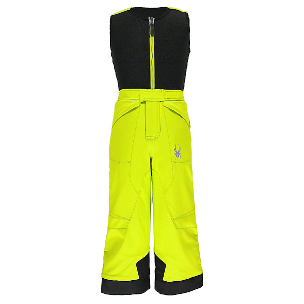 Spyder Mini Expedition Toddler Boys Ski Pants, Bryte Yellow-Black, 600