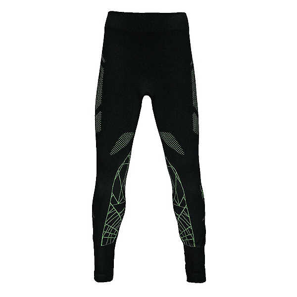 Spyder Racer Kids Long Underwear Bottom, Black-Fresh, 600