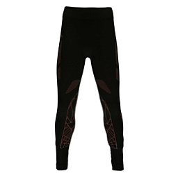 Spyder Racer Kids Long Underwear Bottom, Black-Red, 256