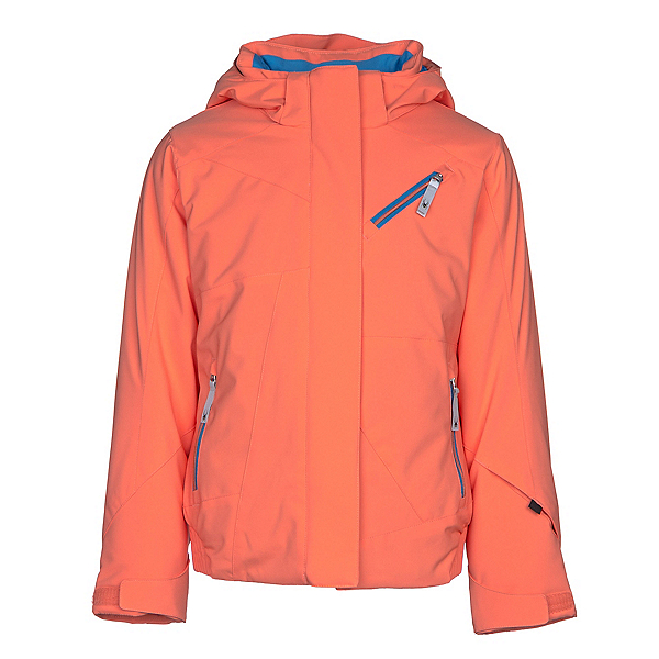 Spyder Lola Girls Ski Jacket, Coral, 600